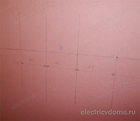Размеры подрозетников: диаметр, глубина, межосевое расстояние