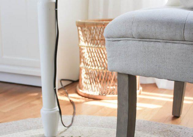 Как спрятать кабель от интернета, если он тянется через всю квартиру??