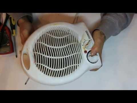 Ремонт электрообогревателей